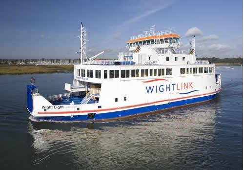 Wightlink ferry Yarmouth-Lymington