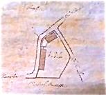 Deed Plan showing Rock Cottage