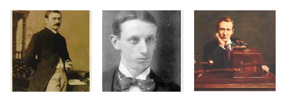 Photographs of Kipling, Ballastier and Marconi