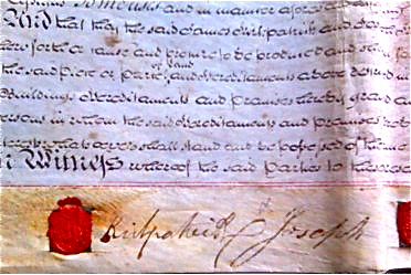Extract of title deed mentioning Rock Cottage